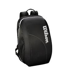 c3fd7d869c5a5 Wilson Federer DNA Backpack Tennisrucksack schwarz rot Tennis