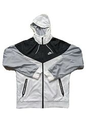 Nike sportswear windrunner jacket Black White Gray Adult Small