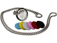 Love Knot 316L Surgical Stainless Steel Aromatherapy Diffuser Locket