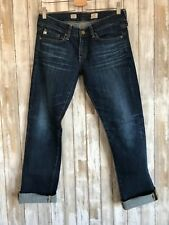 AG-ed Adriano Goldschmied Tomboy Relaxed Straight Jean 5 Years Size 27 * RARE*
