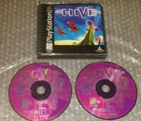 The Hive PS1 Playstation 1 Black Label No Manual Shooter W/ Case & Artwork 1996