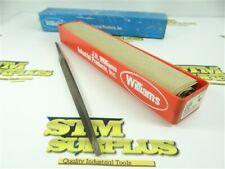 "PACK OF 12 NEW-OLD STOCK WILLIAMS 6"" SLIM TAPER FILES"
