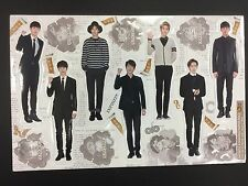 Kpop INFINITE K pop High Quality Official Photo Standing Paper Doll