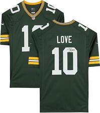 Jordan Amor Green Bay Packers Autografiada Jersey Verde Juego Nike