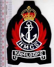 Canada Royal Canadian Navy RCN HMCS Kamloops (K-176) Corvette Flower Class