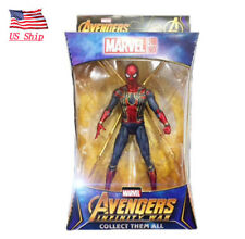 "US! Marvel Spider Man Iron Spider Avengers Infinity War 7""Action Figure Toy Gift"
