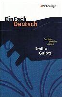 EinFach Deutsch Textausgaben: Gotthold Ephraim Lessing: ... | Buch | Zustand gut