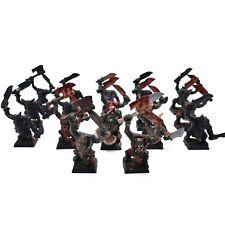 Warhammer Fantasy Orcs & Goblins Boyz x 17 Painted