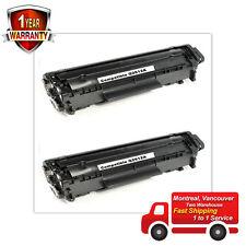 2pk Toner for HP 12A Q2612A 1018 1020 1010 3020 1012 3015 1022 3030 3050