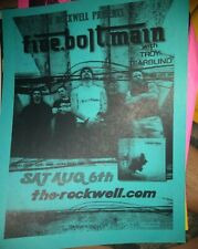 Five Bolt Main (Chris Volz of Flaw) * Rare Concert Flyer *