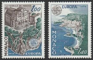 Monaco, 1978 Europa CEPT. SG1345-6 Unmounted Mint MNH