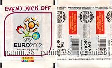 "RARE !! Pochette ""EVENT KICK OFF - UEFA EURO 2012"" bustina, packet, tüte PANINI"