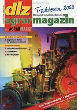 dlz Traktoren 2003 Lanz Fordson Valtra T Ares MF 8000 Fendt 800 Vario Agrotron