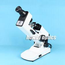 Manual lensometer Optical lensmeter Internal reading Prism unit included