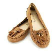 Sugar Too Dazzie Flats Girls Size 12.5 Brown