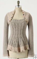 """Anthropologie Rosie Neira """"Pinafore"""" Sweater —M, Extremely Rare!!!"""