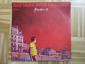 LP / Fischer-Z – Red Skies Over Paradise   / DE   PRESS / RAR /