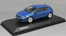 Norev Volkswagen VW Scirocco in Rising Blue Metallic 2008 840182 1/43 NEW