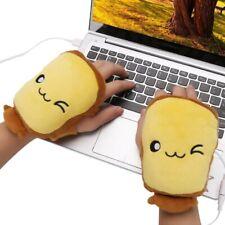USB Hand Warmer Heated Fingerless Gloves