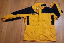 Columbia West Ridge Parka Jacket MENS XL Yellow Black AMAZING condition!