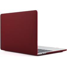 MacBook RIGIDA PROTETTIVA 15 in (ca. 38.10 cm) Pro Custodia SOFT TOUCH IN PLASTICA COPERTURA Deep WINE RED
