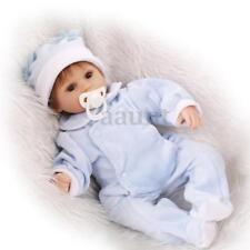 "22"" Handmade Lifelike Baby Girl Doll Silicone Vinyl Reborn Newborn Dolls+Clothes"