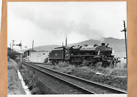 "British rail 44767  fort William station  21/8 /86. large original 10""x8"" photo."