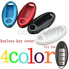 Paint Metallic Color Key Case Fob Smart Shell Cover For Nissan Altima Maxima