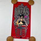 Strangelove Skateboards Sean Cliver Natas Kaupas - BDSM Catwoman Red Print /75