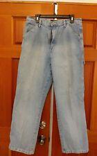 Route 66 Women's Carpenter Jeans Size 15/16 Average Light Wash Work Wear Cotton