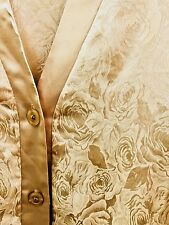 Lounging Pajamas, Satin And Roses Size Medium