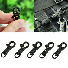 10 PCS Rotatable Mini Buckle Hang Quickdraw Outdoor Survival Carabiner Key-Chain