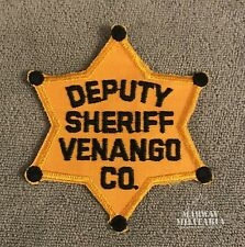 Early, VENANGO COUNTY Pennsylvania Deputy Sheriff Police Patch (22332)