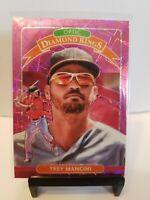Trey Mancini 2020 Donruss Optic Diamond Kings Pink Velocity Prizm /199  Orioles