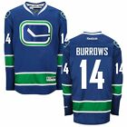 2015-16 VANCOUVER CANUCKS REEBOK NHL PREMIER 3RD BLUE JERSEY COLLECTION MEN'S