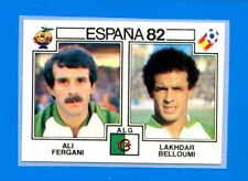 SPAGNA ESPANA '82 -Panini-Figurina-Sticker n. 106 - FERGANI-BELLOUMI-ALGERIE-Rec