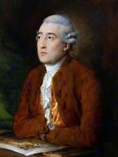 Ritratto Gainsborough Philippe JACQUES DE loutherbourg poster stampa bb12862b