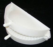 "NEW MEAT PIE MAKER FILLED CORNISH PASTY PATTY HINGED MOULD PRESS 5.5"" 14cm BAG"