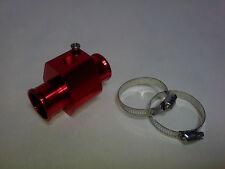 Connecteur adaptateur, sonde de température d'eau 36 mm rouge VENDEUR FRANCAIS