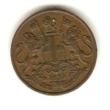 1835 EAST INDIA COMPANY BRITISH Coin 1/4 ANNA