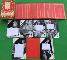 Old Vintage Stag Series * GLAMOUR No.10 * Playing Cards Risque PIN UP GIRL Nudes