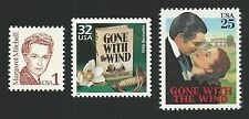 Margaret Mitchell Gone With the Wind First Edition Book & Movie Stamps Set MINT!