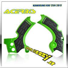 PROTEZIONE TELAIO COPRITELAIO ACERBIS X-GRIP KAWASAKI KX-F 250 2017 - 2018 VERDE