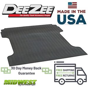 Dee Zee Rubber Bed Mat Fits 1975-1986 Ford F-150 1975-1998 F-250 F-350 8' Bed