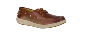 Sperry Gold Cup Gamesfish 3 EYE Brown Boat Shoe Men's sizes 7-13/NEW!!!