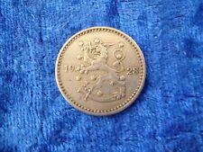Finland 1 Markka 1928 gVF