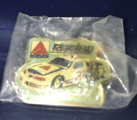 Kyle Petty Racing Pin Vintage Citgo Wood Bros Nascar Thunderbird  Race Car Pin