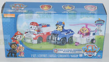 Paw Patrol - Chase, Skye and Marshall Rescue Racers Vehicle Set 3pk