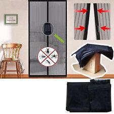 Hot Magic Mesh Hands-Free Screen Net Magnetic Anti Mosquito Bug Door Curtain Sh