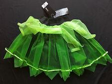 Halloween Fancy Dress Costume - Glitter Green & Black Lace Tutu Skirt